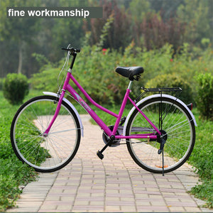 High-Quality 24-Inch Light Bicycle  Male and Female Student Bicycle Security Company Direct Wholesale Multi-Color Optional