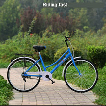 Load image into Gallery viewer, High-Quality 24-Inch Light Bicycle  Male and Female Student Bicycle Security Company Direct Wholesale Multi-Color Optional