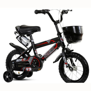 Children  Bicycle With Three Wheel Balance Double Brake