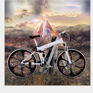 Kalosse bicycle brand  26*2.125  DIY colors  bicycle foldable   21/24/27/30 speed   Hydraulic brakes , mountain bike man