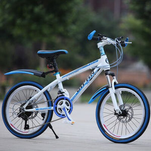 Mountain Bike 22-Inch 21-Speed Speed Shock Absorber Disc Brake Adult Children's Bicycle