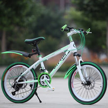 Load image into Gallery viewer, Mountain Bike 22-Inch 21-Speed Speed Shock Absorber Disc Brake Adult Children's Bicycle