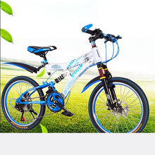 Load image into Gallery viewer, Mountain Bike Carbon Steel Frame of High Quality 27-Speed 26-Inch Double Disk Damping Double Disc Brake Soft-Tail Frame