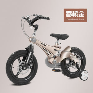 Children's Bicycles 2-11 Years Old 12/ 14/ 16 Inch Children's Bicycles Magnesium Alloy Double Disc Brake Bike for Boys and Girls