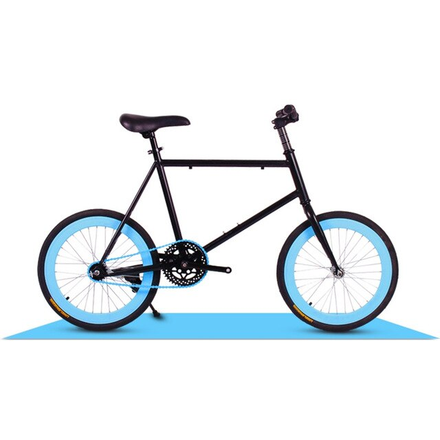 Urban Recreational Bicycle High Carbon Steel Frame 20 Inch Spring Fork Low Gear Non-Damping