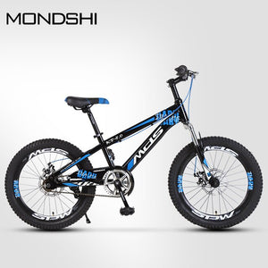 Mondshi20 inch mountain bike single speed double disc brake shock absorption front fork