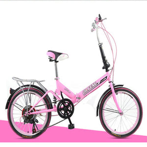 20-Inch Variable Speed Folding Shock Absorbing Adult Male And Female Students Ultimate Upgraded Bike