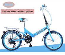 Load image into Gallery viewer, 20-Inch Variable Speed Folding Shock Absorbing Adult Male And Female Students Ultimate Upgraded Bike