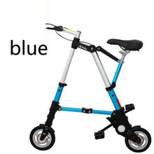 Load image into Gallery viewer, [TB11]Bicycle scooter mini 8 inch folding bicycle 10 inch bicycle small folding car free inflatable