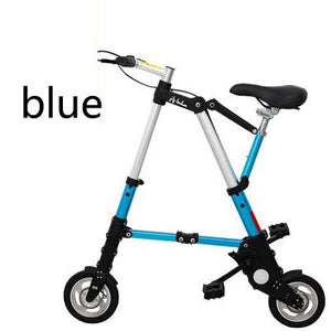 [TB11]Bicycle scooter mini 8 inch folding bicycle 10 inch bicycle small folding car free inflatable