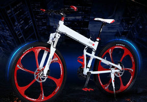 21/24/27/30 speed ,mountain bike bicycle , foldable frame   26er   folding   26*17inch,  2016  cycling tyres bike  ,5 colors