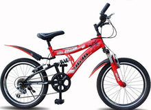 Load image into Gallery viewer, Double V Brake Cycling  Mountain Bike 6 Speed 22 Inch Pedal Full Shockingproof Frame