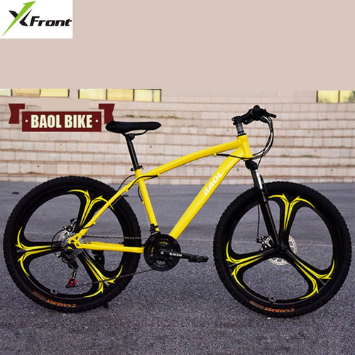 New X-Front brand 26 inch 21/24/27 speed carbon steel mountain bike disc brake bicicleta downhill MTB bicycle