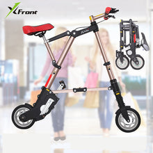 Load image into Gallery viewer, New A-bike unisex 10 inch wheel mini ultra light folding bike subway transit vehicles road bicycle outdoor sports bicicleta