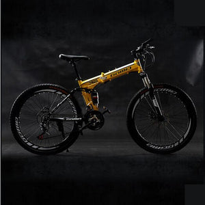 New X-Front brand 26 inch wheel 21/24/27 speed carbon steel frame mountain bike outdoor downhill folding bicicleta MTB bicycle