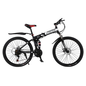 Altruism X9 Mens Womens mountain bike 21 speed Steel Gear shift 26 Inch Double Disc Brakes Bicycles Road Cycling Riding