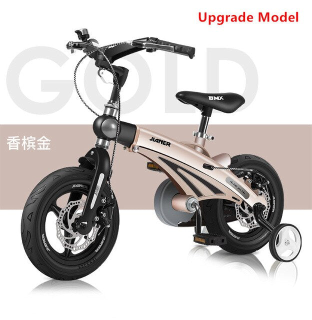 New Brand Children's Bicycle 12/14/16 inch Wheel Magnesium alloy frame SAFETY disc brake 2/4/6 years old Children buggy bike