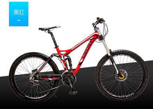 Load image into Gallery viewer, Bicicleta mountain bike 26,  Tyre dirt bike ,24/27 speed  full suspension  ,2017 new cycling bicicleta mountain bicycle