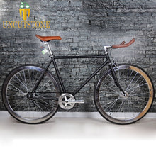 Load image into Gallery viewer, Retro Steel frame sliver  Fixed Gear bike Track Single speed Bicycle 48cm 52cm 700C  fixie bike vintage DIY frame