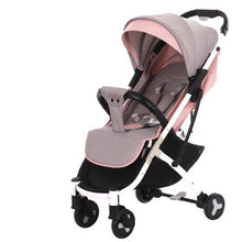 Load image into Gallery viewer, New Brand Baby stroller ultra light portable folding can sit lie baby child kids simple pocket mini Bike hand push Trolley