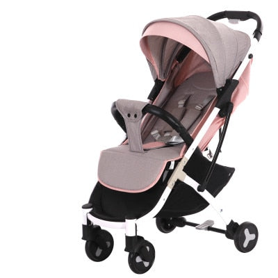 New Brand Baby stroller ultra light portable folding can sit lie baby child kids simple pocket mini Bike hand push Trolley