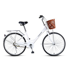 Load image into Gallery viewer, Students Bike Lady Commuting Ordinary Light Variable Speed  24 Inches Fashion Commuter Bicycle,High Carbon Steel Frame