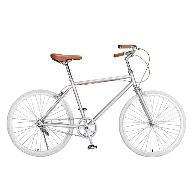 24 Inch And 7 Speed Ordinary Light Duty Retro Bicycle For Men And Women