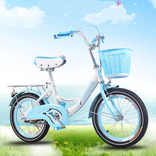 Load image into Gallery viewer, Children's Bicycle 20 Inches Princess Big Boy Primary School Student Basket Bike Boy Girl Baby Double Brake Leisure Commuter