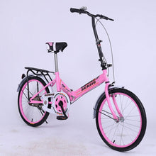 Load image into Gallery viewer, Folding Bicycle 20-inch Adult Fast  Normal Foot Brake After The Mini Blender Super Light