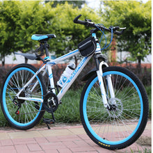Load image into Gallery viewer, Mountain Bike 26 Inches 21 Speed  Double Disc Brake Double Disc Brake Student Bicycle