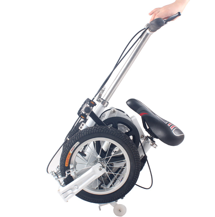 to Russian arrived 18-35 days!   12 inch  14inch  mini/free folding bike/subway transit vehicles  black white red blue