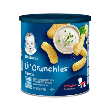 Gerber LIL' CRUNCHIES Ranch - 42 g