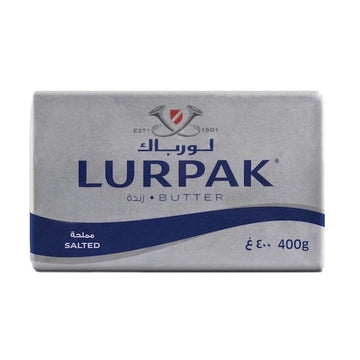 Lurpak Salted Butter Block 400g