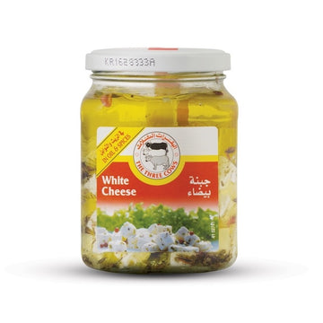 The Three Cows TTC White Cheese Cubes in Oil and Spices Jar 300 g