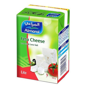 Almarai Feta Cheese Low Fat & Less Salt Lite - 400 g