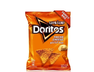 Doritos Nacho Cheese Tortilla Chips, 180g