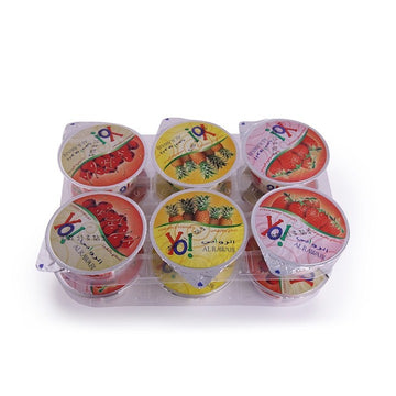 Al Rawabi 6X130 Gm Yo Fruit Yoghurt Assorted-130 Gm