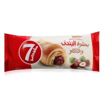 7 Days Hazel Nut With Cocoa Filling Croissant - 100 g