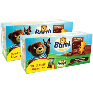 Barni chocolate 30 g 10+2