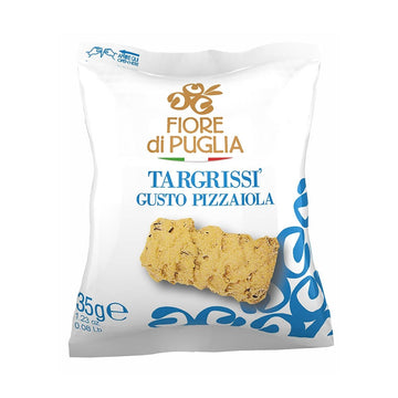 Fiore Di Puglia Targrissi' - Wheat Snacks With Pizza Flavour, 35 g