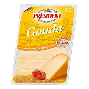 President Gouda Classic Cheese Slices - 150 g