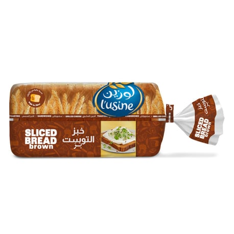 L'usine Sliced Brown Bread - 600g