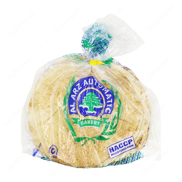 Al Arz Automatic Bakery Small Arabic Bread - 155g