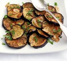 Italian Eggplant With Basil and Parsley