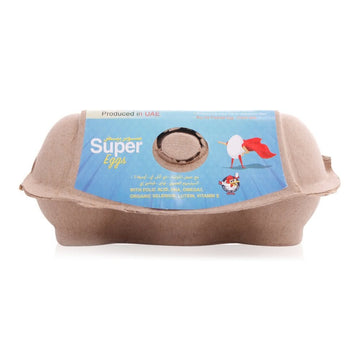 Al Jazira Super Fresh Brown Egg - 6 Pieces