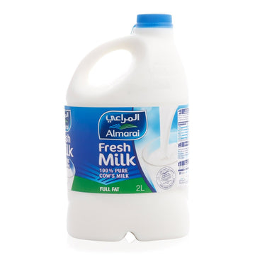 Almarai Full Fat Fresh Milk - 2 Ltr