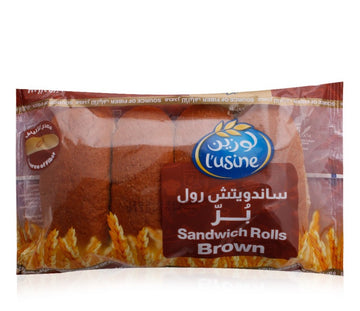 Lusine Brown Sandwich Roll - 200 g