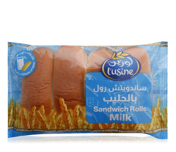 L'usine Milk Sandwich Rolls - 200 g