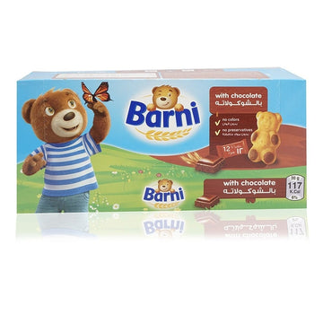 Barni Chocolate Filling Cake - 12 x 30 g