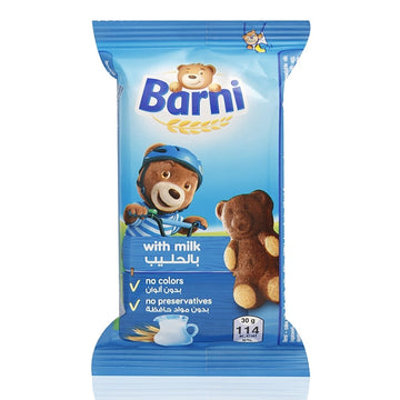 Barni Snacks with Milk,30 gm